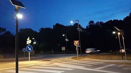 Iluminación en pasos de peatones