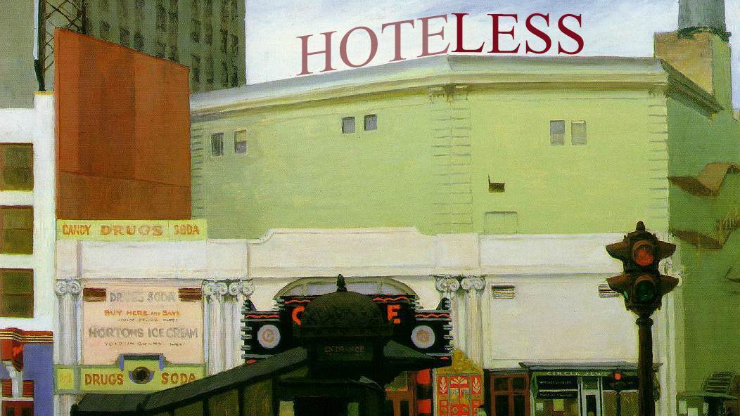 Hoteless. Una proposta