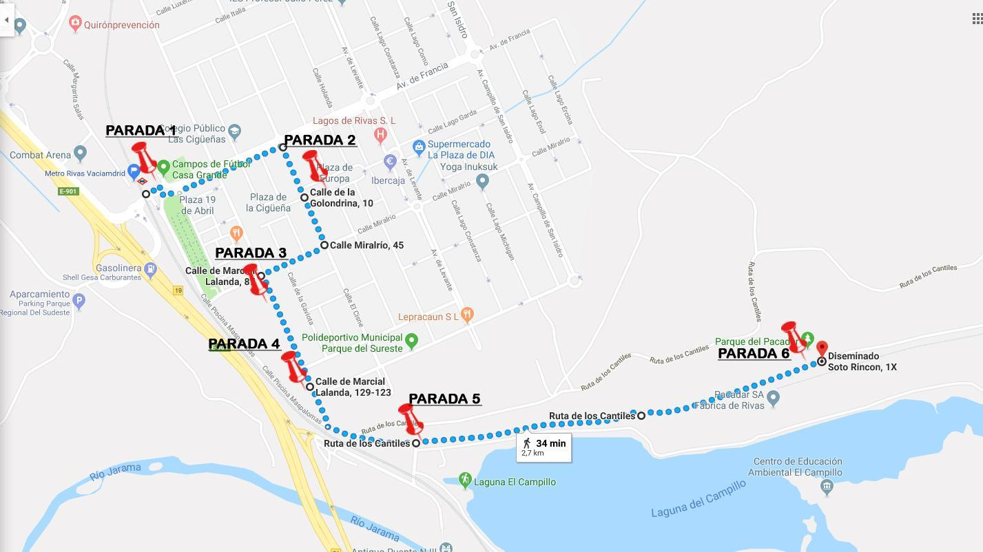 Ruta del Frente del Jarama en Vaciamadrid