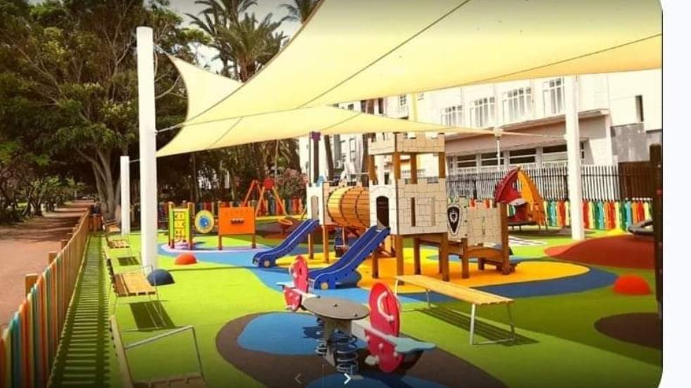 Sombra en los parques infantiles