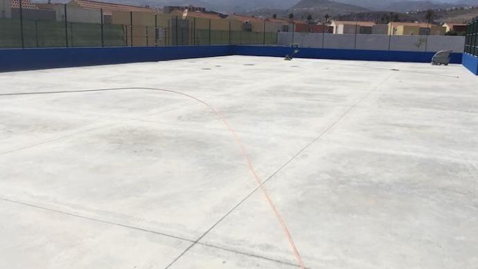 Pista de patinaje y hockey