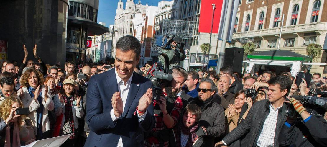 Pedro Sánchez political profile, news, ratings, and communication