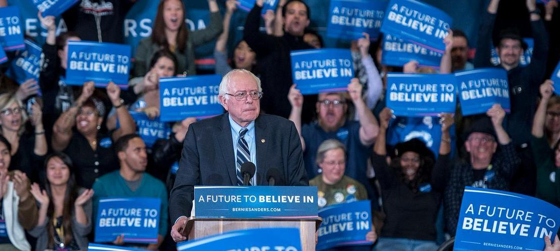 Bernie Sanders' profile, news, ratings, and communication