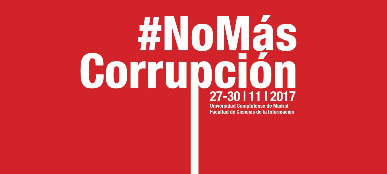 No Más Corrupción Profile, rate, communicate and discover